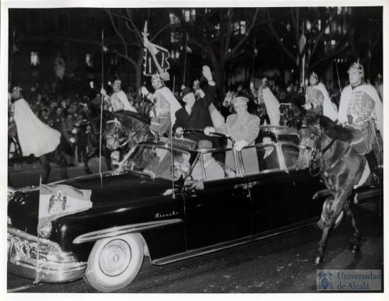 Franco  amb Eisenhower,  president USA.